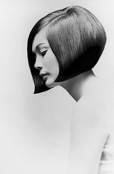 actress Nancy Kwan Vidal Sassoon cut it into this chic bob