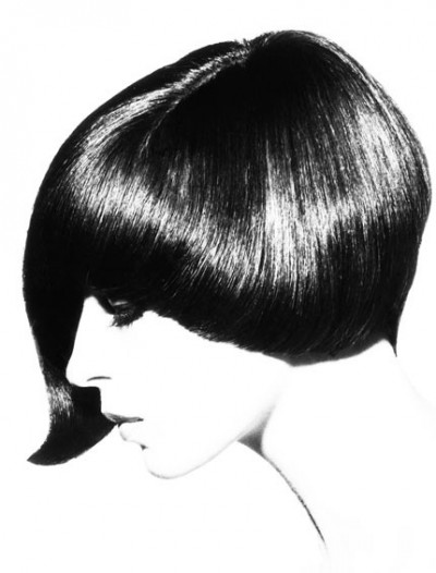 asymmetric cut,formidablemag,60s,london,fashion,hair,style,peggy moffitt,twiggy,mary quant,mode,grace coddington,5 points,asimetrical,saloon,mia farrow,rossmary,polansky,andy warhol