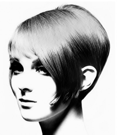 60s top model grace coddington with vidal sassoon hair styling
