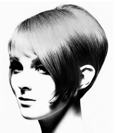 60s top model grace coddington with vidal sassoon hair styling