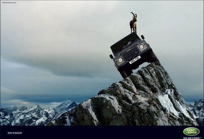 Land Rover Formidable Mag Iconic Cars
