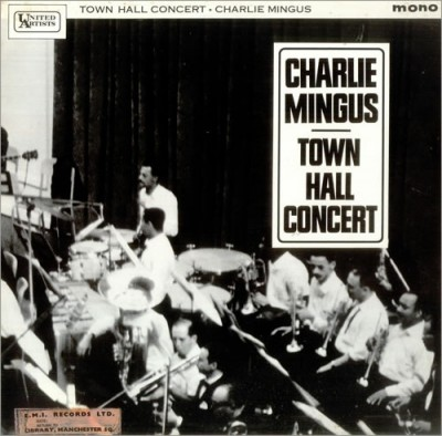 25_CHARLES_MINGUS town hall concert album cover