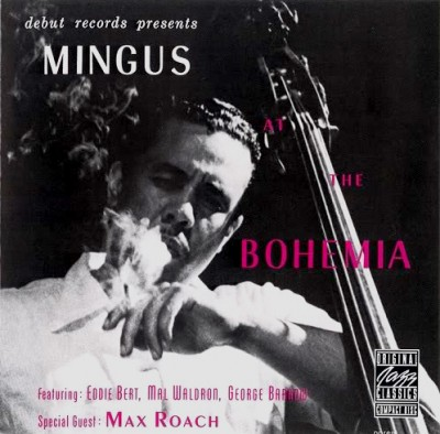 charles mingus live at the bohemia album cover