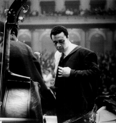 Charles Mingus in the Concertgebouw in Amsterdam1964