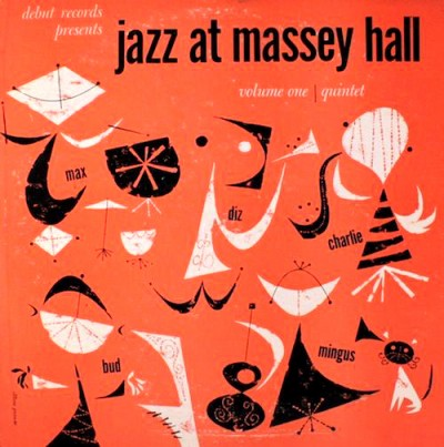 jcharles mingus jazz at massey hall record sleve