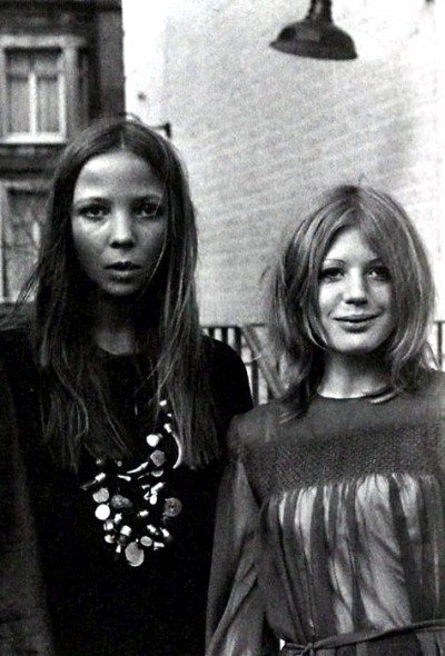 penelope tree, top model, marianne faithful,60s style icon, rock,formidable magazine ,actress,pop music,musique, chica yeye