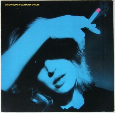 broken english record album cover, marianne faithful