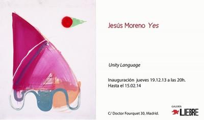 yes_jesus_moreno_p Inauguración UNITY LANGUAGE - Jesús Moreno YES