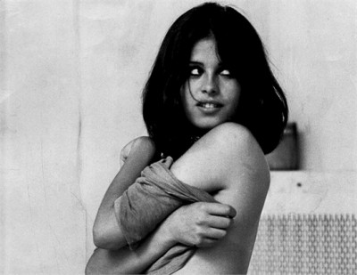 uschi-obermaier in the film Rote Sonne