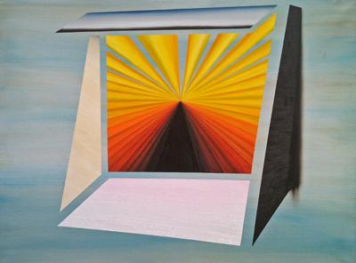 2014. Alejandro Botubol materia oscura, 146 x 116cm, oleo sobre lienzo