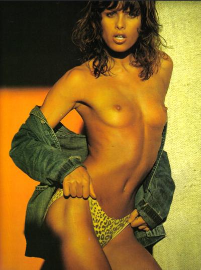Uschi Obermaier topless photo editorial