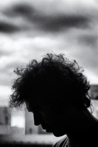 spanish artist Nacho Martín silva photographed by Juan Barte