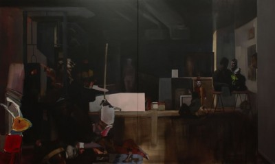 nacho-martín-silva-the-big-studio-the-painting-oil-on-canvas-180-x-300-cm-2012