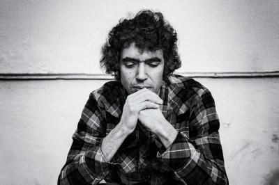 Nacho Martin silva, pensive mood byJuan Barte
