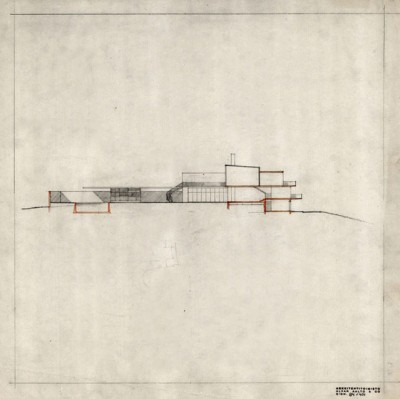 33_Alvar Aalto's 1938-39 Villa Mairea cross section