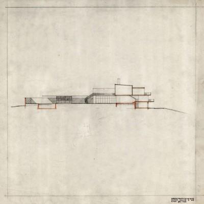 33_Alvar Aalto's 1938-39 Villa Mairea cross section