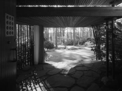 Entrance, Villa Mairea