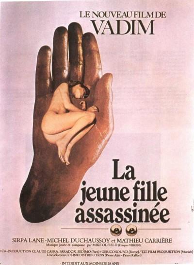 Escandalosa poster del director frances vadin film poster