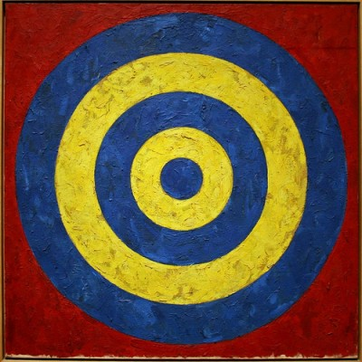 diana-coaching by jasper johns