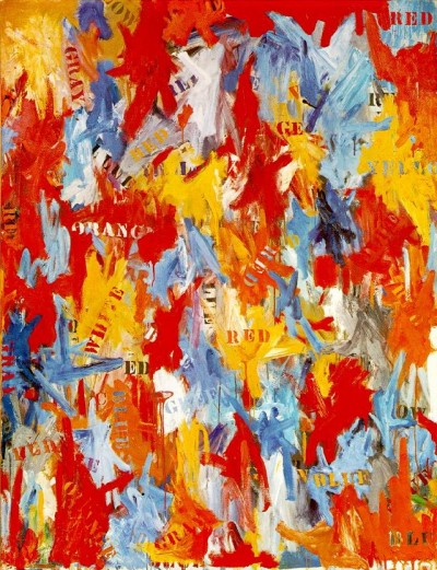false-start by american artist jasper johns