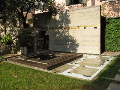 giardino della Fondazione Querini Stampalia, progetto Carlo Scarpa.