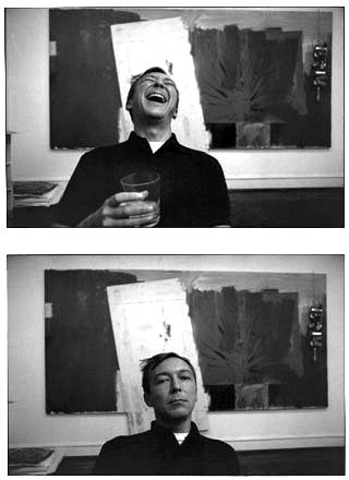 JASPER-JOHNS-HAPPY-SAD by italian photographer ugo mulas