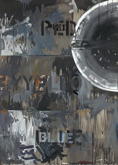 Periscope (Hart Crane) (1962) jasper johns