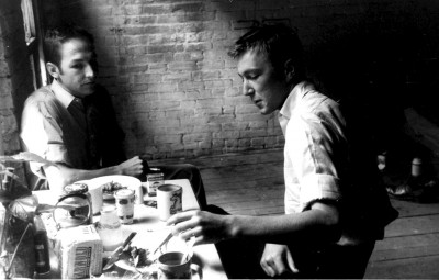 Robert Rauschenberg and Jasper Johns, New York, late 1950s