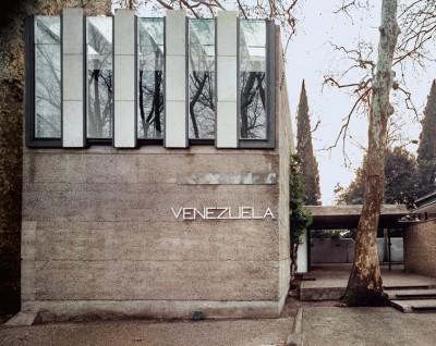 venezuela pabillion designed by italian achitect carlo scarpa