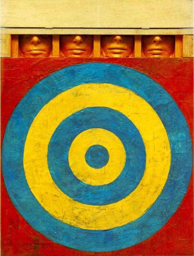 target_4 artwork by jasper johns
