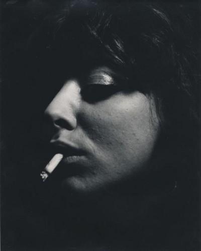 ed-van-der-elsken-vali-myers-portrait-with-cigarette-paris-1950-54