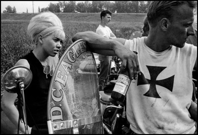 USA. Chicago. 1965. Joey and his girl, South Chicago.