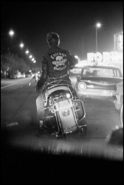 USA. Chicago, Illinois. 1965. Benny, Grand and Division. photography the bikeriders
