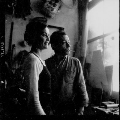 Claude-and-Xavier-Francois-in-their-studio-1965