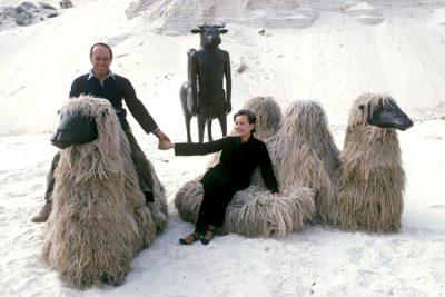 Francois-Xavier-Claude Lalanne-sheep