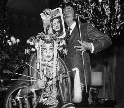 Salvador Dali 1972 New York Monroe-mao