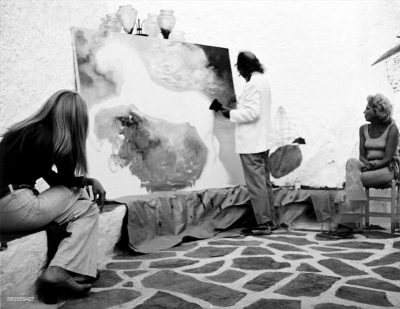dali painting at home
