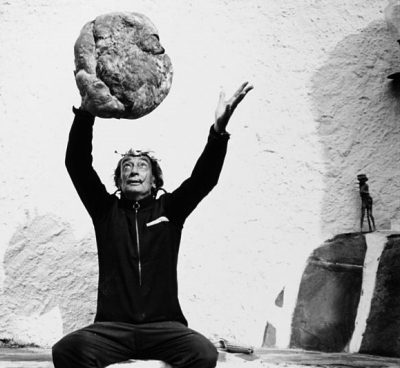 dali with bread