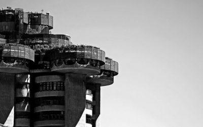 torres Blancas apartment building Madrid Brutalistm Organic styles