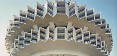 Druzhba (friendship) Sanatorium by Igor Vasilievsky brutalism architecture