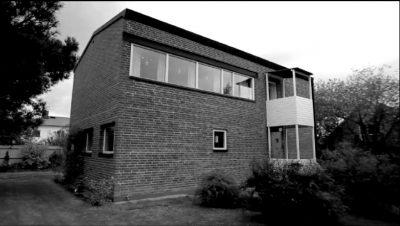 Hans Asplund to describe Villa Göth in Uppsala 1949 by Bengt Edman Lennart Holm.