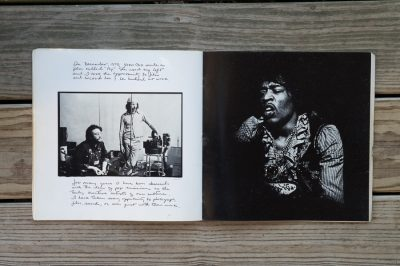john Lennon and robert frank in new york by danny seymour in photobook a loud song