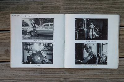 portraits and daily life by danny seymour in photobook a loud song
