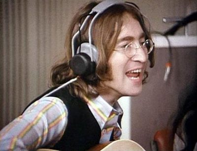 John Lennon get back-let it be recording sessions